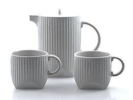 Ensemble Théière et tasses
